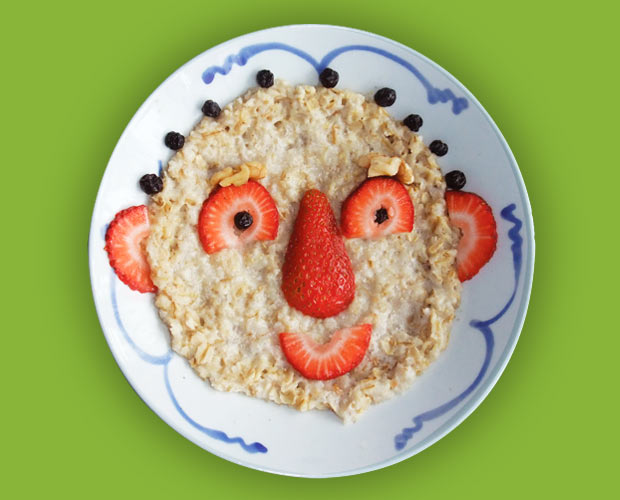 Oatmeal for kids