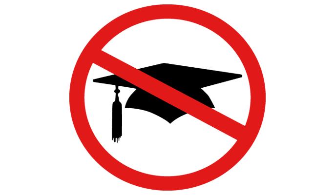 no University
